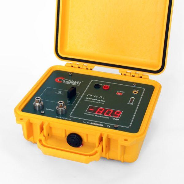 Przenośny miernik wilgotności gazów DPH-31