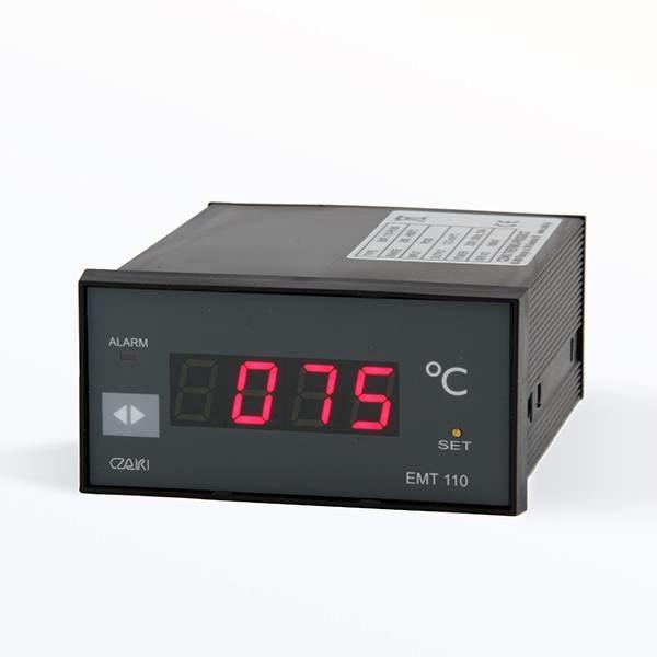 Tablicowy miernik temperatury EMT-110 (wyjście napięciowe, wyjście alarmowe)