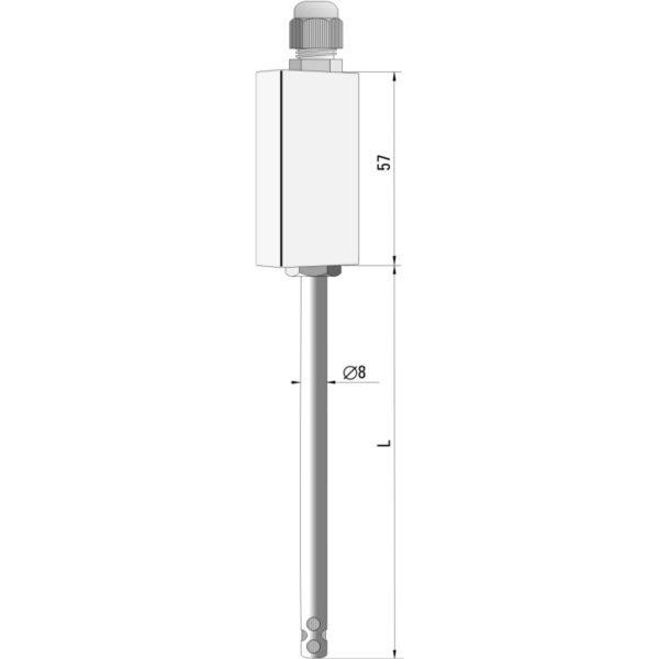 Air temperature and humidity sensor HT-961