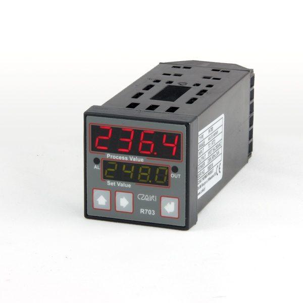 Regulator temperatury R-703, programowalny, P, PI, PD, PID