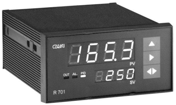 Regulator temperatury R-701, programowalny, P, PI, PD, PID
