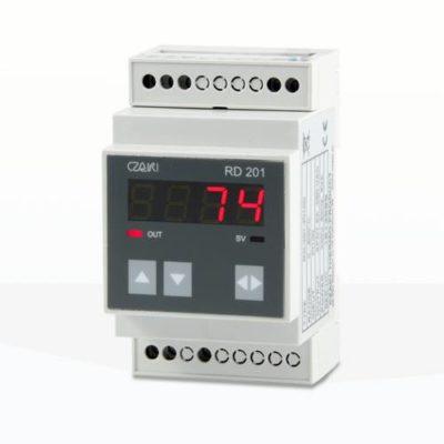 RD-201 Regulator temperatury na szynę DIN (regulacja proporcjonalna)