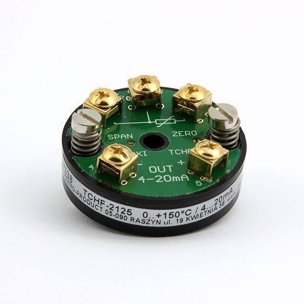 Głowicowy przetwornik temperatury TCHF (dla Pt100, z wyjściem 4-20mA)