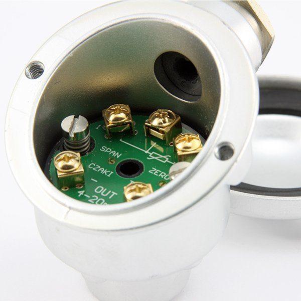 TCHF Analogowy, głowicowy przetwornik temperatury (dla Pt100, wyjście 4-20mA)