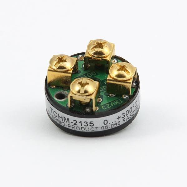 TCHM Analogowy, głowicowy, miniaturowy przetwornik temperatury (dla Pt100, wyjście 4-20mA)