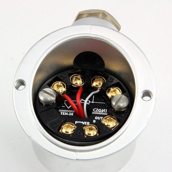 TEH-38 Programowalny, głowicowy przetwornik temperatury z izolacją galwaniczną (wyjście 0-10V)