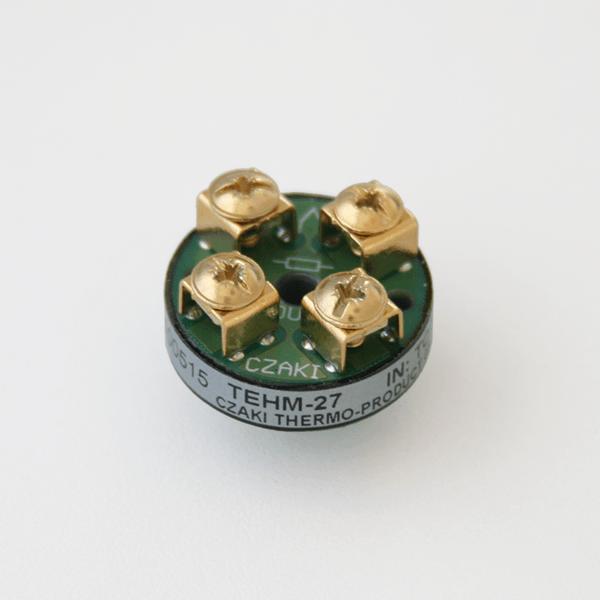 TEHM Programowalny, głowicowy, miniaturowy przetwornik temperatury (wyjście 4-20mA)