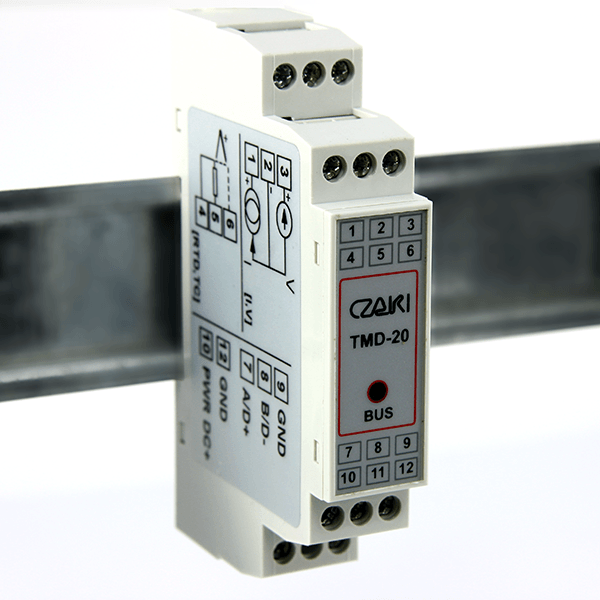 WRT-16M Multichannel temperature logger, Modbus-RTU, RS-485 interface