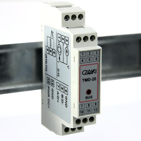 Przetwornik pomiarowy TMD-20, Modbus-RTU, RS-485, programowalny