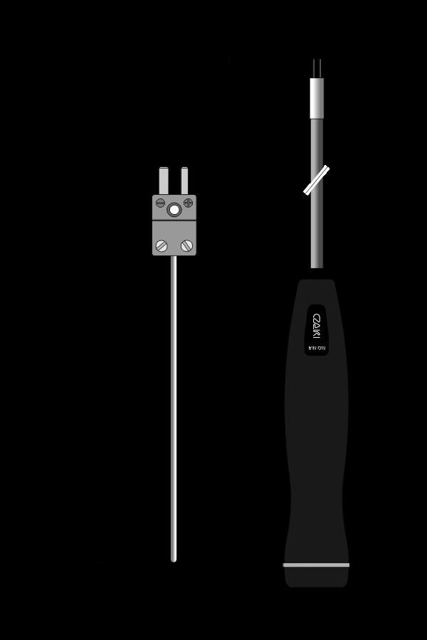 Czujnik temperatury TP-105, z wymiennym wkładem pomiarowym