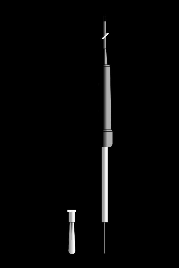 Czujnik temperatury TP-127, sprężysty termoelement