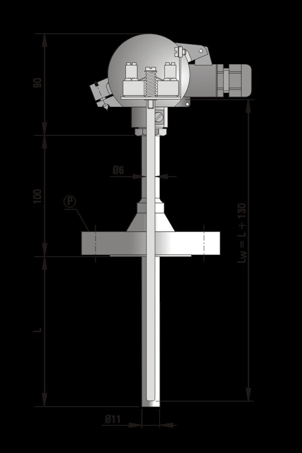 Czujnik temperatury TP-Exi-911_912
