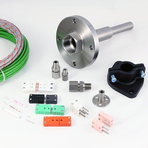 Accessories for temperature sensors
