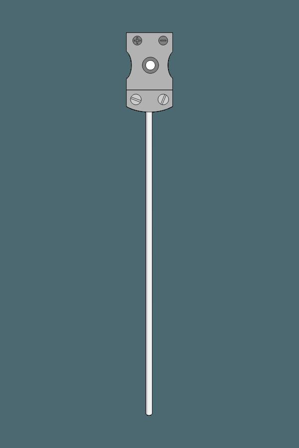 Czujnik temperatury TP-221_224 (termoelement płaszczowy, gniazdo MT-G)