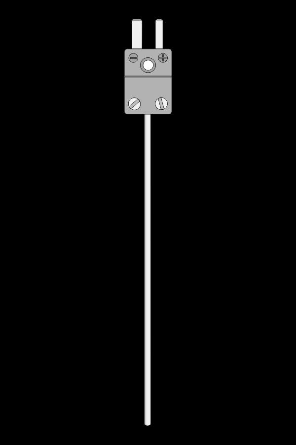 Czujnik temperatury TP-231_234 (termoelement płaszczowy, wtyk MT)