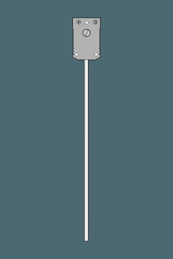 Czujnik temperatury TP-241_243 (termoelement płaszczowy, gniazdo ST-G)