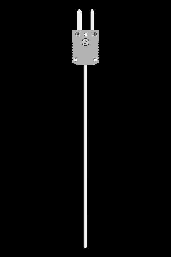 Czujnik temperatury TP-251_253 (termoelement płaszczowy, wtyk ST)