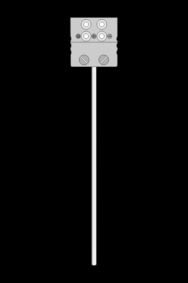Czujnik temperatury TP-261_263 (Pt100, płaszczowy, gniazdo MP)