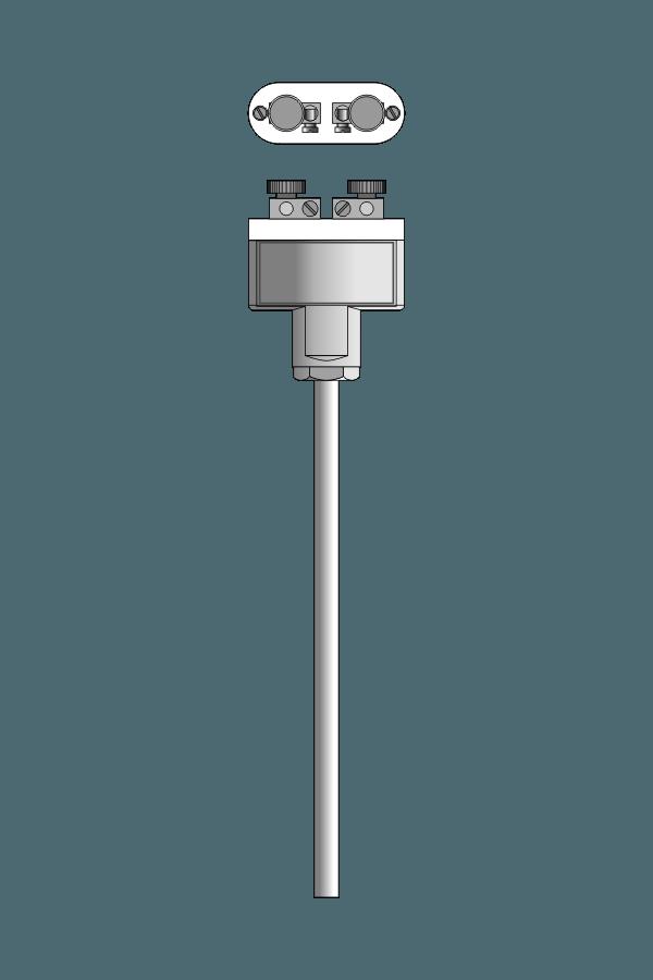 Czujnik temperatury TP-435_438 (termoelement płaszczowy)