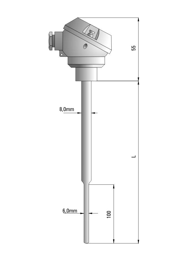 Temperature sensor TP-451_453