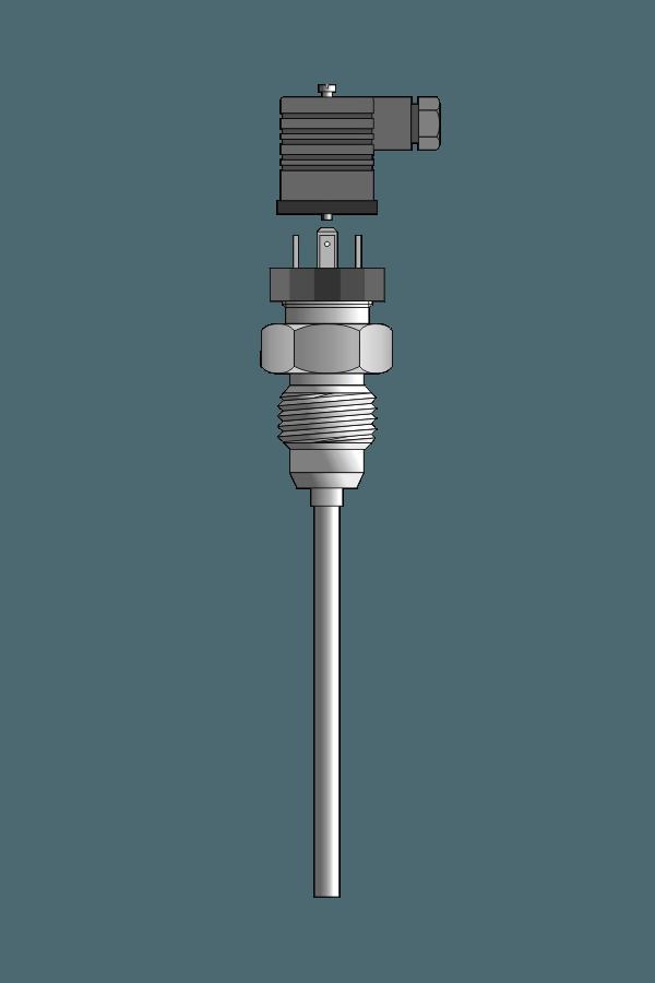 Czujnik temperatury TP-489 (złącze higieniczne, Pt100)