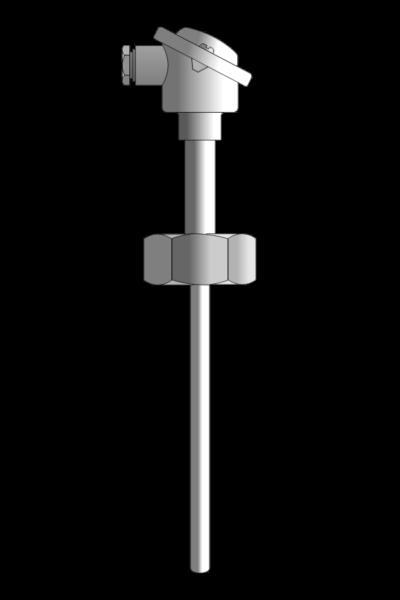 Czujnik temperatury TP-521_524 (Pt100 lub termoelement płaszczowy)