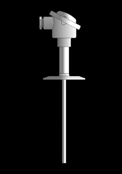 Czujnik temperatury TP-631_633 (Tri-Clamp, wymienny wkład pomiarowy)