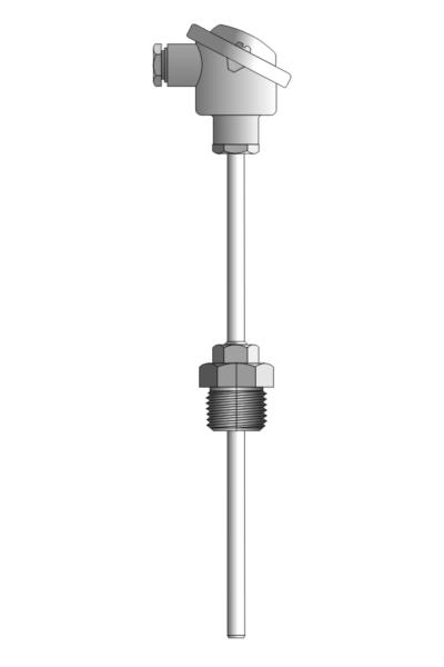 Czujnik temperatury TP-641_644 (z osłoną, wymienny wkład pomiarowy)