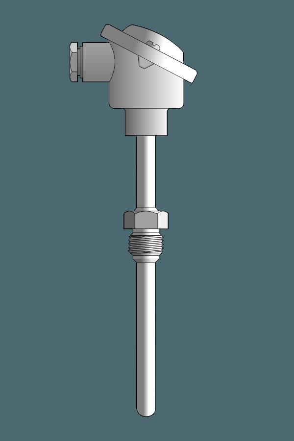 Czujnik temperatury TP-661_662 (wymienny wkład pomiarowy)