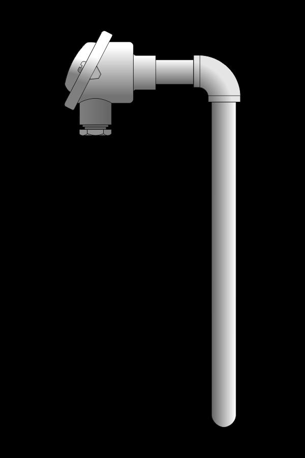 Czujnik temperatury TP-695 (żaroodporny)