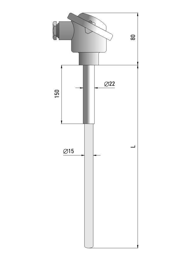 Czujnik temperatury TP-801_805 (ceramiczny)