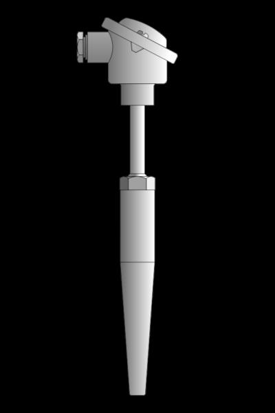 Czujnik temperatury TP-901 (do 40 MPa)
