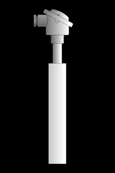 Czujnik_temperatury TP-931_934 (osłona z węglika krzemu)