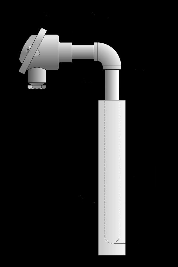 Czujnik_temperatury TP-941_944 (osłona z węglika krzemu)